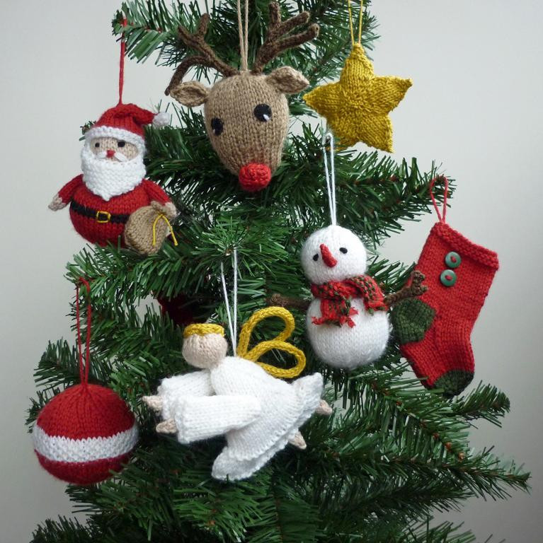 Christmas Knitting Patterns Unique Christmas Tree Decorations to Knit Of Contemporary 44 Pics Christmas Knitting Patterns