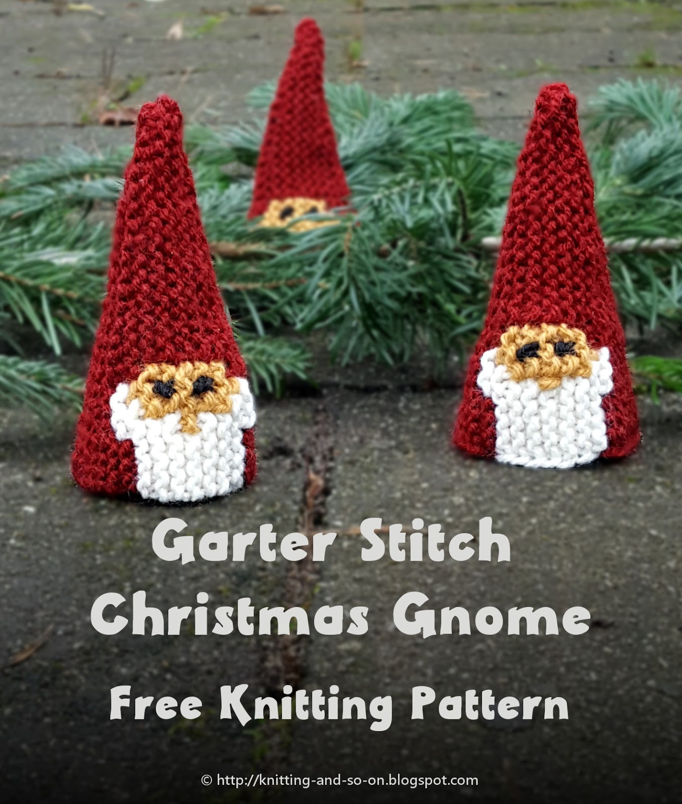Christmas Knitting Patterns Unique Knitting and so On Garter Stitch Christmas Gnome Of Contemporary 44 Pics Christmas Knitting Patterns