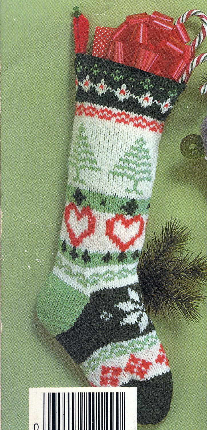 Christmas Knitting Unique Knit Christmas Fair isle Stocking Vintage Knitting Pdf Pattern Of Attractive 41 Models Christmas Knitting