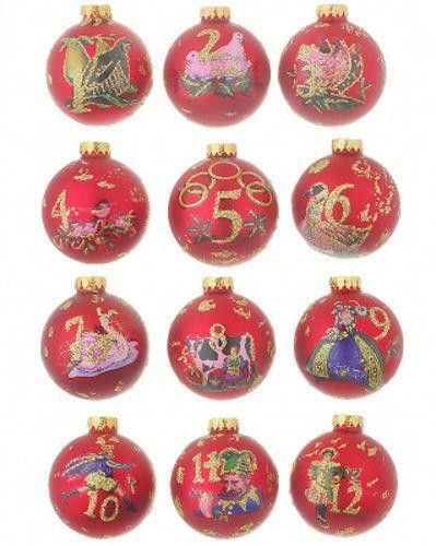 Christmas ornament Sets Fresh 12 Days Of Christmas ornament Set Of Fresh 41 Models Christmas ornament Sets