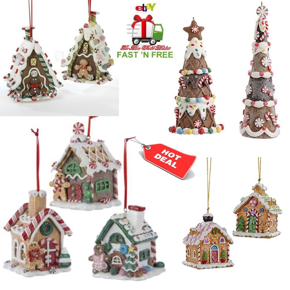 Christmas ornament Sets Lovely Christmas ornaments Tree Gingerbread House Hanging 3d Of Fresh 41 Models Christmas ornament Sets