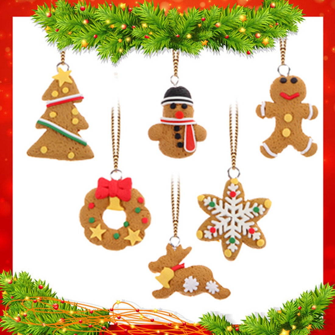 Christmas ornaments Sale Luxury Big Sale 6pcs Mini Christmas Tree Hanging Accessories Of Lovely 41 Photos Christmas ornaments Sale