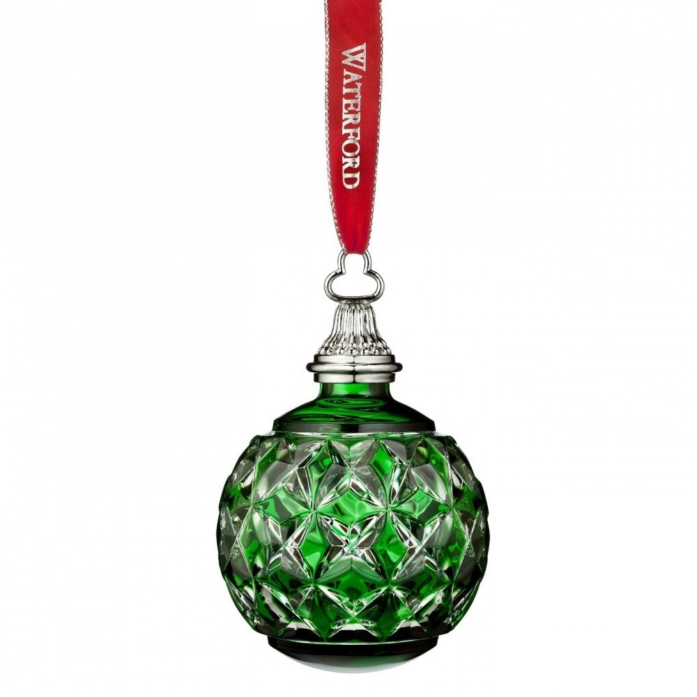 Christmas ornaments Sale Luxury Waterford 2016 Green Cased Ball Christmas ornament Of Lovely 41 Photos Christmas ornaments Sale