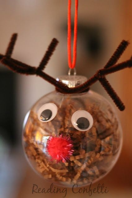 Christmas ornaments to Make Lovely Cute and Easy Reindeer ornaments for Kids to Make This Of Delightful 43 Images Christmas ornaments to Make