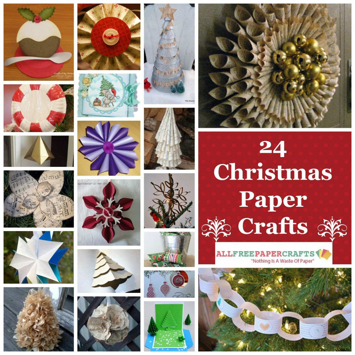 Christmas Paper Crafts Awesome 27 Christmas Paper Crafts Of Adorable 49 Pictures Christmas Paper Crafts