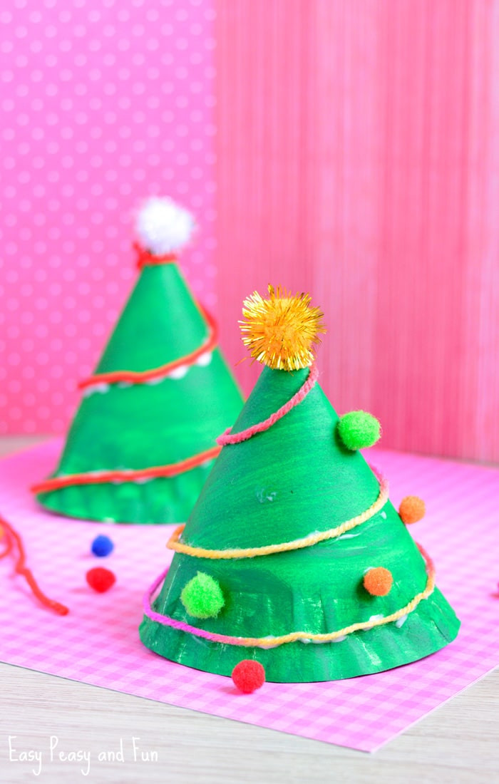 Christmas Paper Crafts Awesome Paper Plate Christmas Tree Craft Easy Peasy and Fun Of Adorable 49 Pictures Christmas Paper Crafts