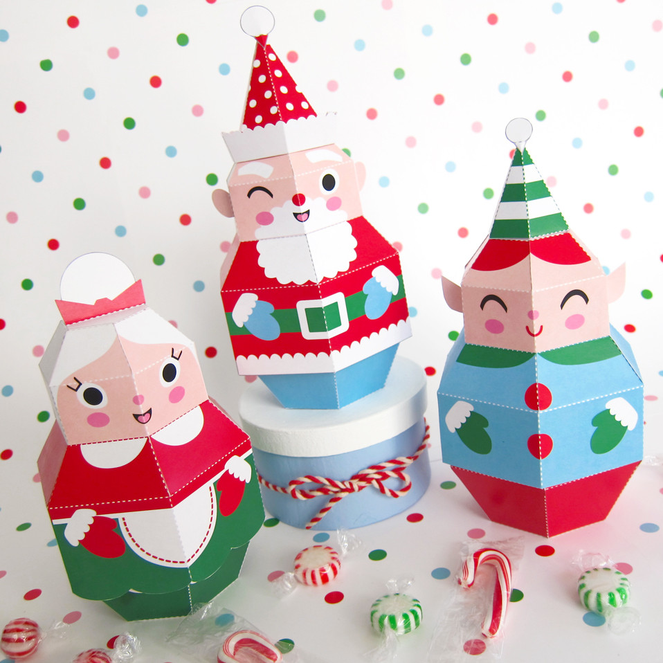Christmas Paper Crafts Elegant Printable Christmas Crafts Diy Woodworking Projects Of Adorable 49 Pictures Christmas Paper Crafts
