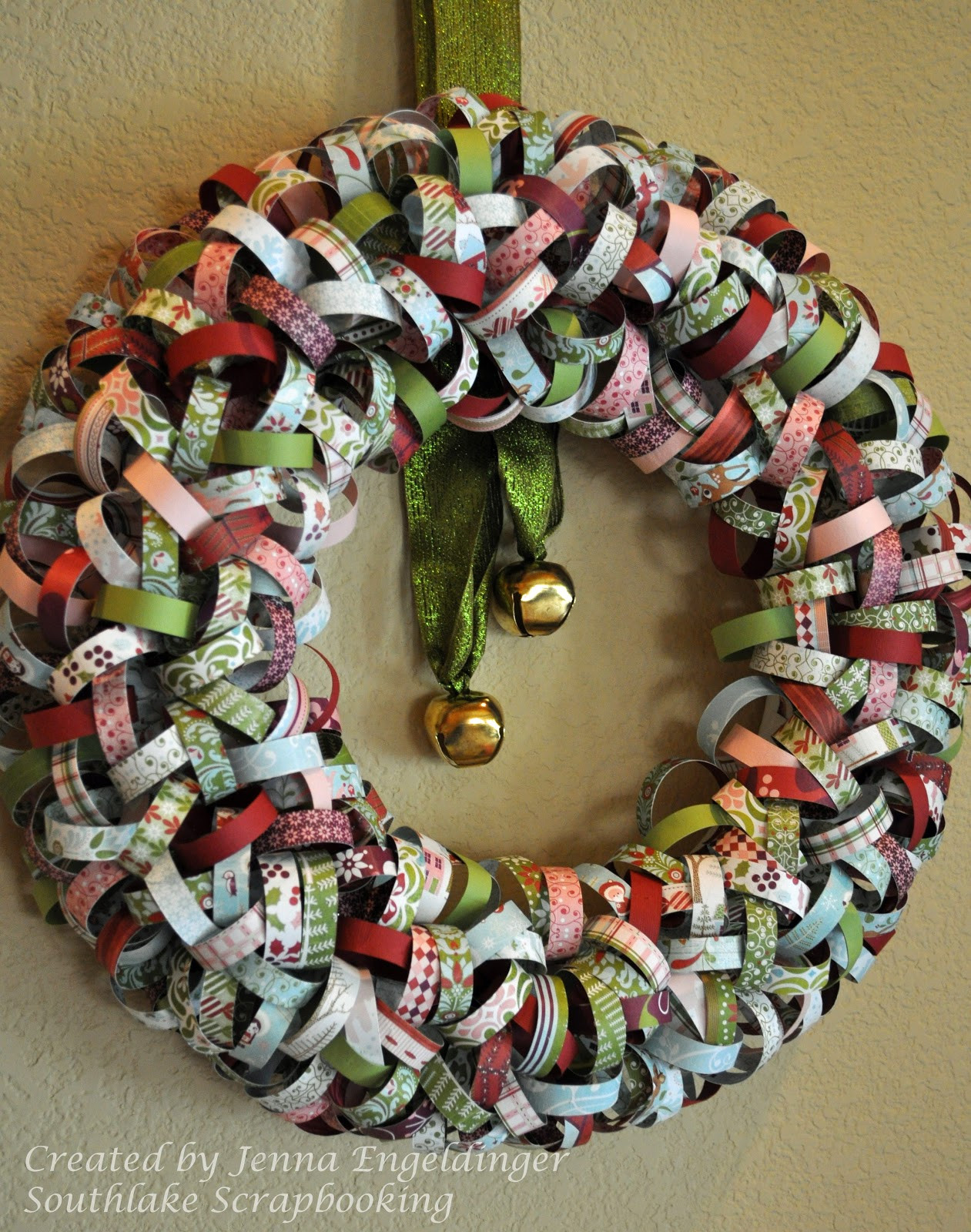 Christmas Paper Crafts Fresh southlake Scrapbooking Christmas Wreath Of Adorable 49 Pictures Christmas Paper Crafts