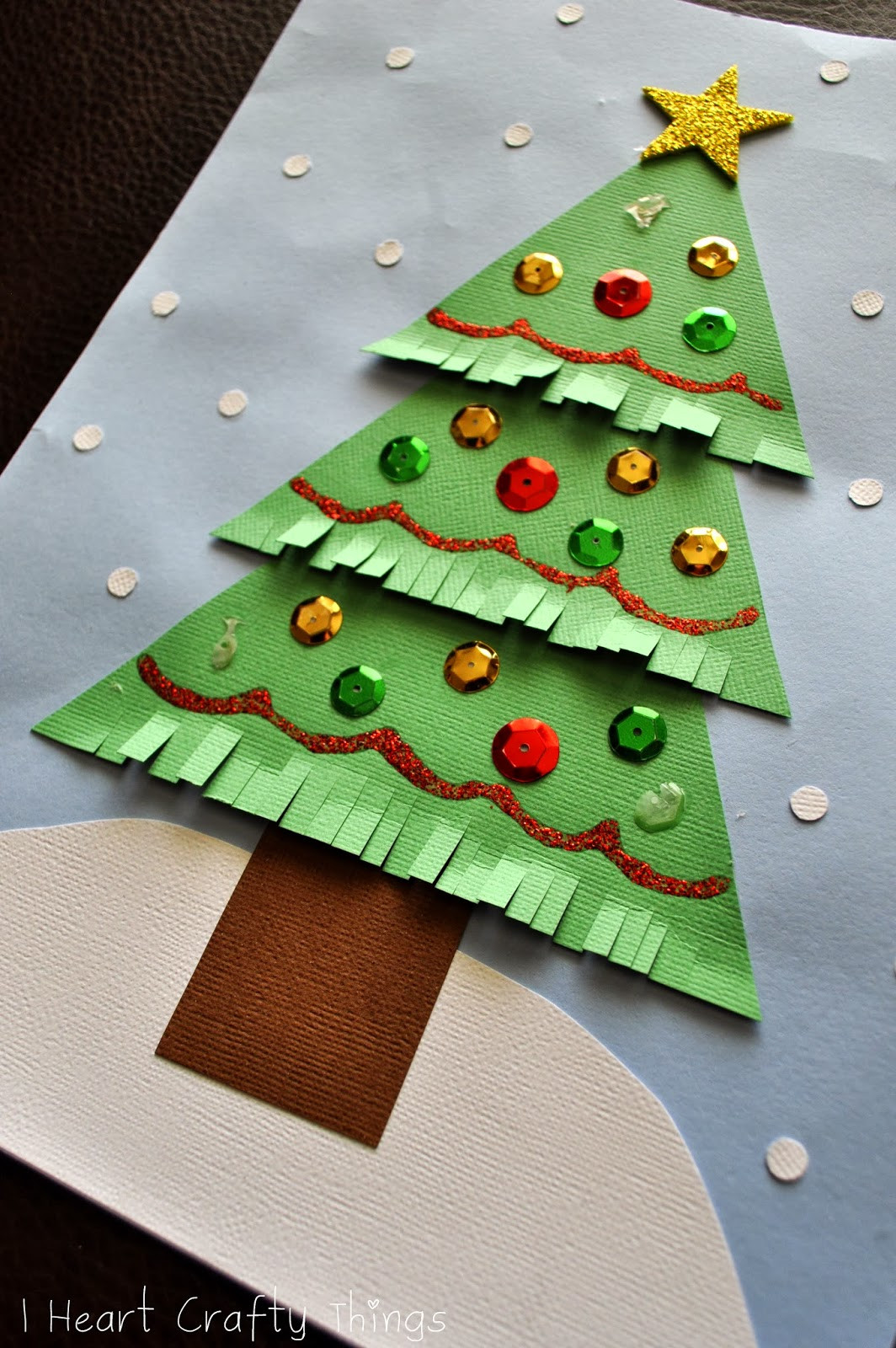 Christmas Paper Crafts Lovely Kids Christmas Tree Craft Of Adorable 49 Pictures Christmas Paper Crafts