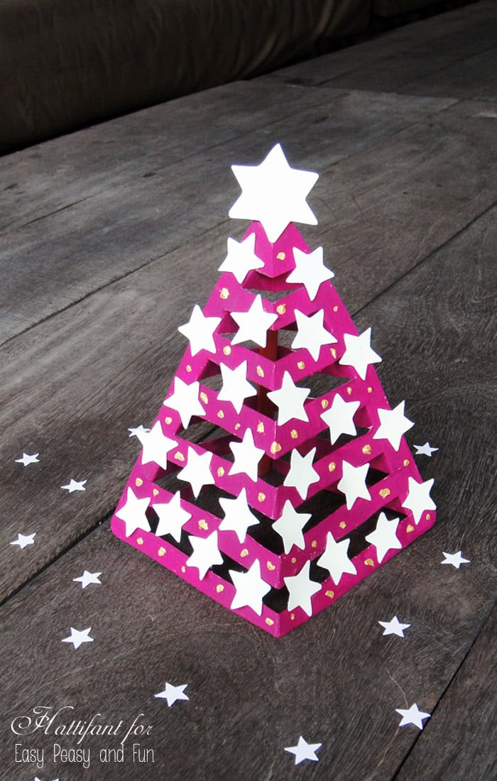 Christmas Paper Crafts New Glow In the Dark 3d Paper Christmas Tree Easy Peasy and Fun Of Adorable 49 Pictures Christmas Paper Crafts