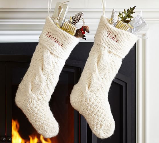 Christmas Stocking Knitting Pattern Awesome Chunky Knit Stocking Of Marvelous 40 Pictures Christmas Stocking Knitting Pattern