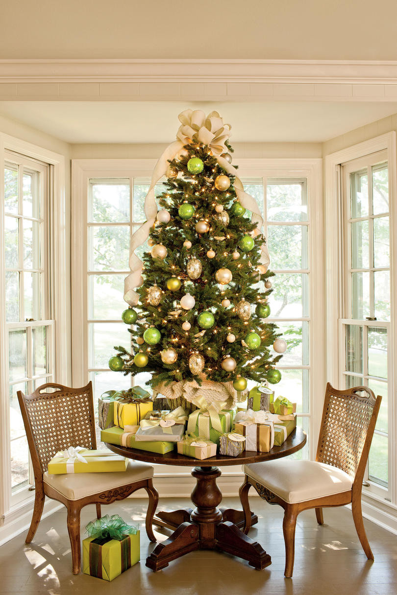 Christmas Tree Decorations Lovely Christmas Tree Decorating Ideas southern Living Of Superb 49 Pics Christmas Tree Decorations