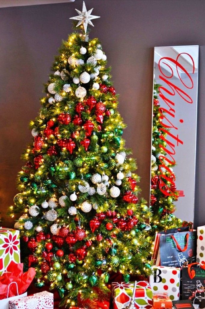 Christmas Tree ornaments New Christmas Tree Decorations Ideas and Tips to Decorate It Of Delightful 42 Pics Christmas Tree ornaments