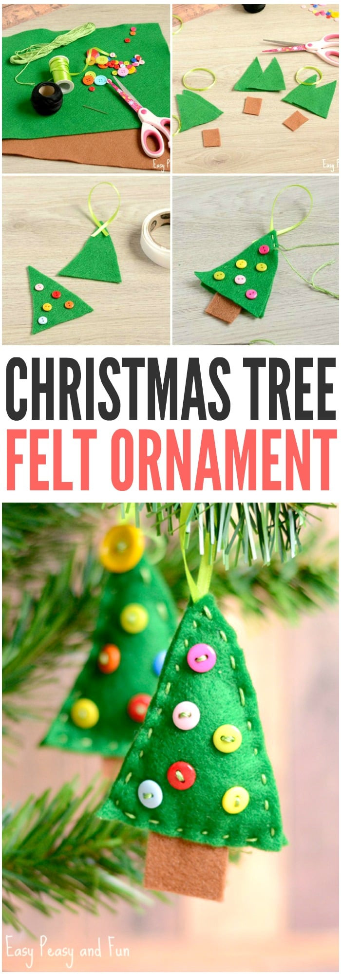 Christmas Tree ornaments to Make Beautiful Felt Christmas Tree ornament Easy Peasy and Fun Of Amazing 45 Images Christmas Tree ornaments to Make