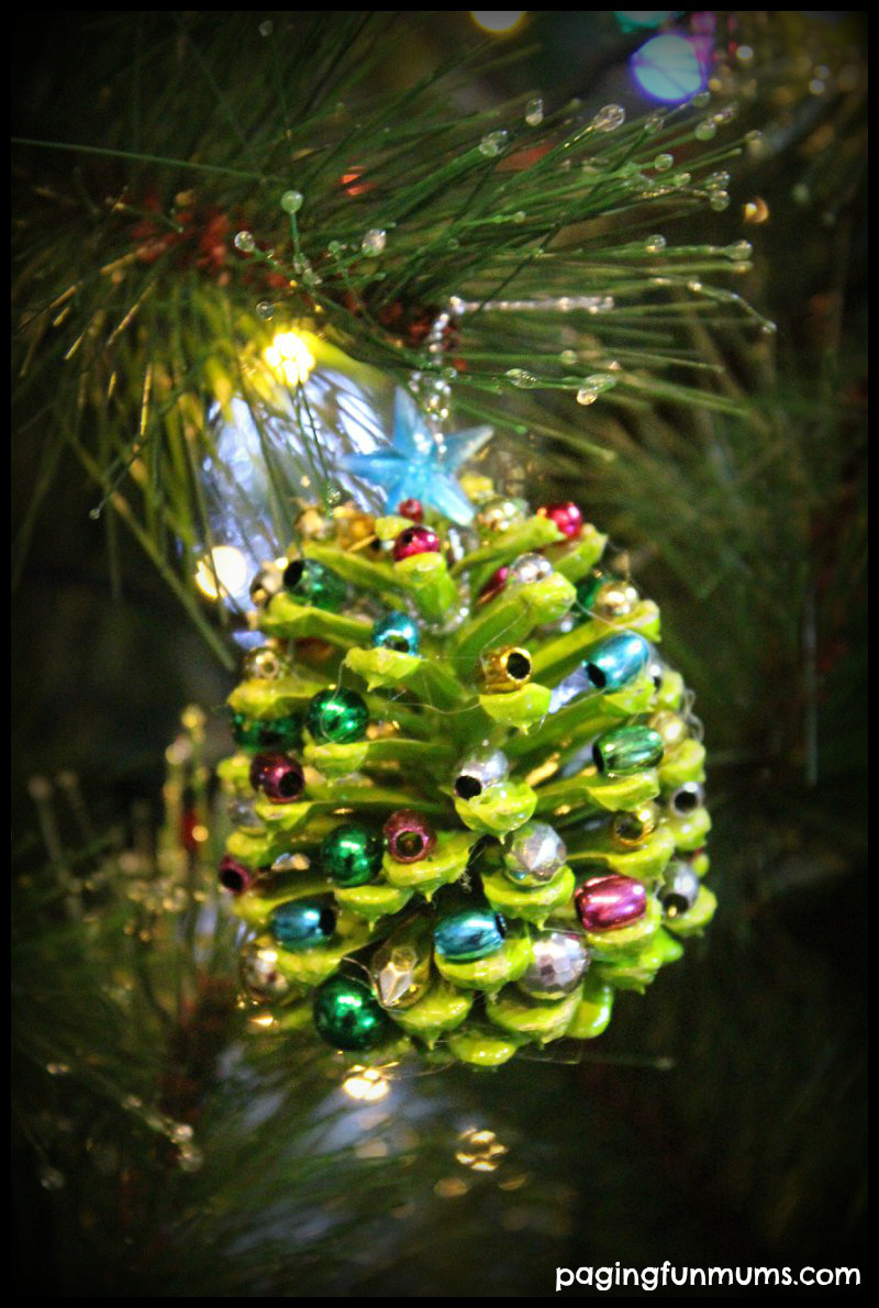 Christmas Tree ornaments to Make Elegant Beaded Pinecone Christmas Tree ornament Paging Fun Mums Of Amazing 45 Images Christmas Tree ornaments to Make