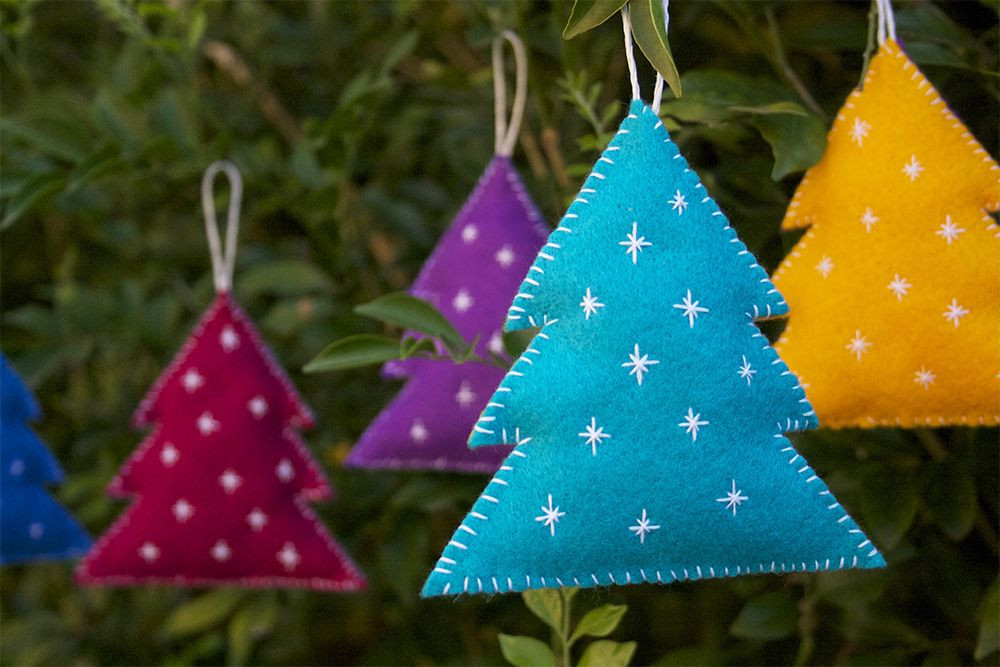 Christmas Tree ornaments to Make Elegant Cute and Cuddly Felt Christmas Trees and Other ornaments Of Amazing 45 Images Christmas Tree ornaments to Make