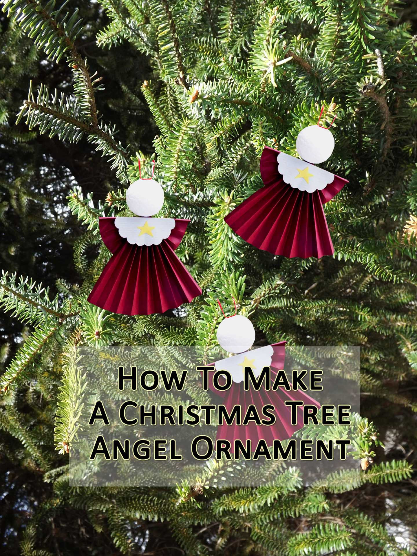 How To Make Angel Tree Ornaments a Fun Christmas Craft