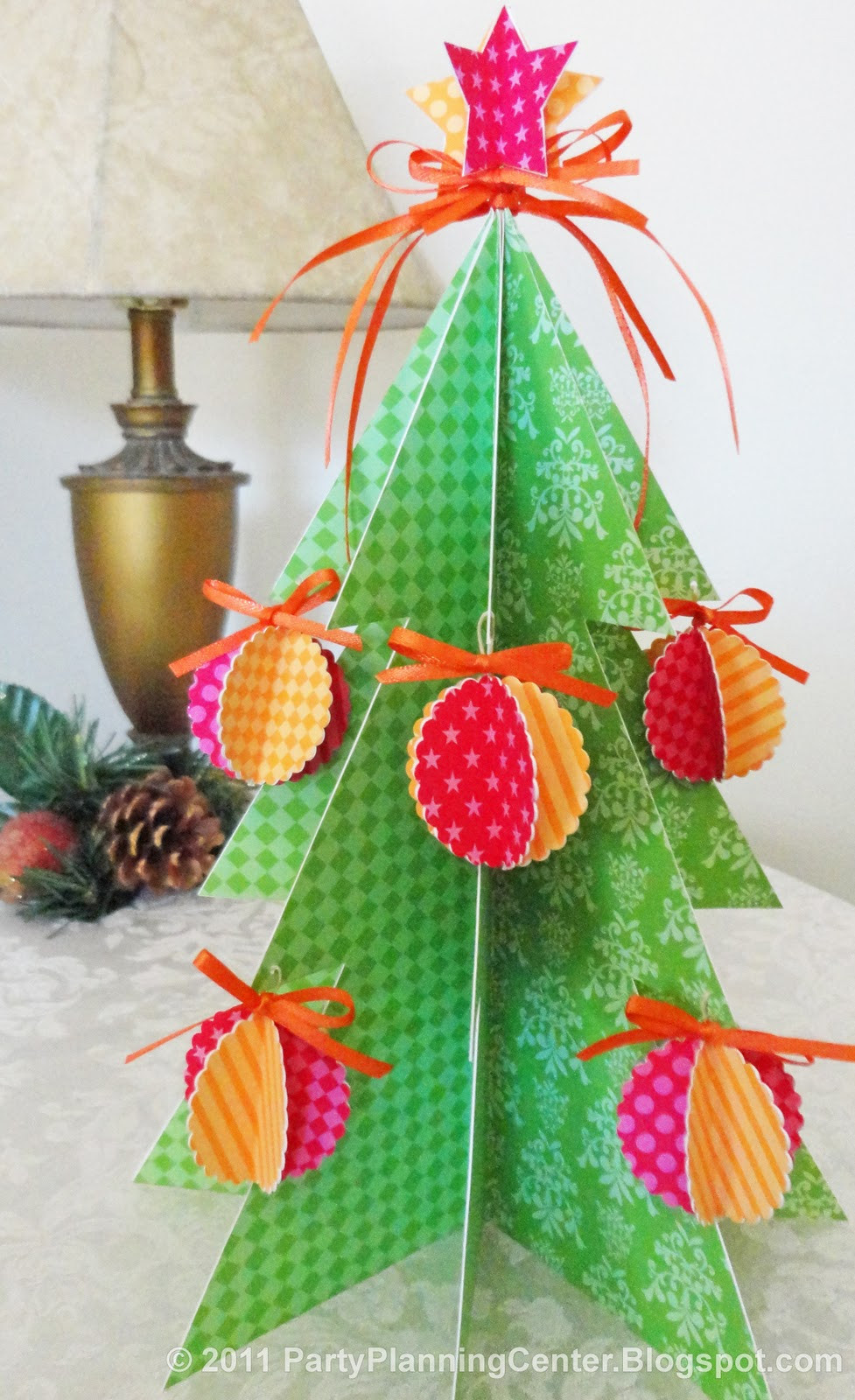 Christmas Tree ornaments to Make Luxury Party Planning Center Free Printable Paper Christmas Tree Of Amazing 45 Images Christmas Tree ornaments to Make