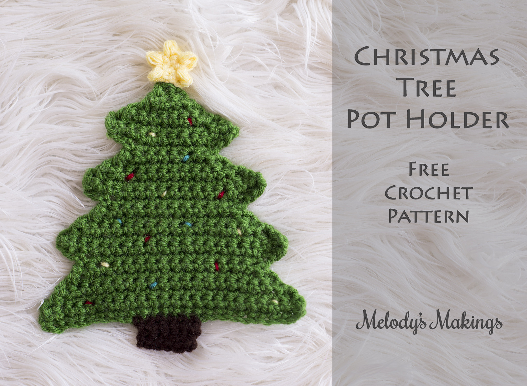 Christmas Tree Pattern Awesome Christmas Tree Pot Holder Pattern Crochet & Knit Of Great 46 Images Christmas Tree Pattern