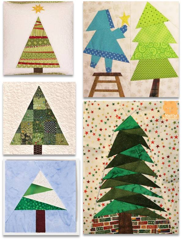 Christmas Tree Pattern Awesome Quilt Inspiration Free Pattern Day Christmas Part 1 Of Great 46 Images Christmas Tree Pattern