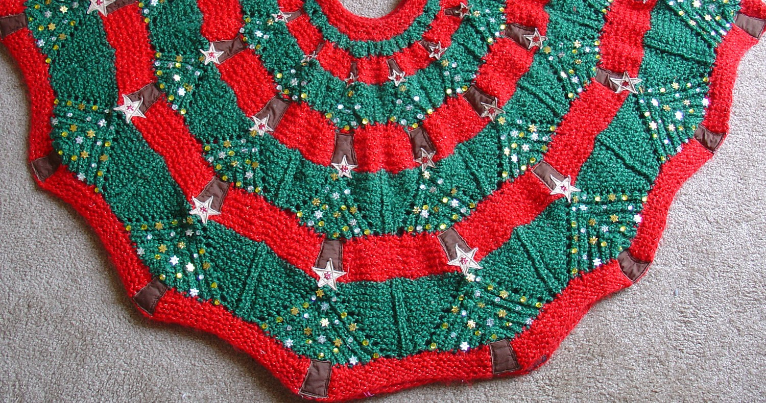 Christmas Tree Pattern Elegant Knitted Christmas Tree Skirt Pattern Of Great 46 Images Christmas Tree Pattern