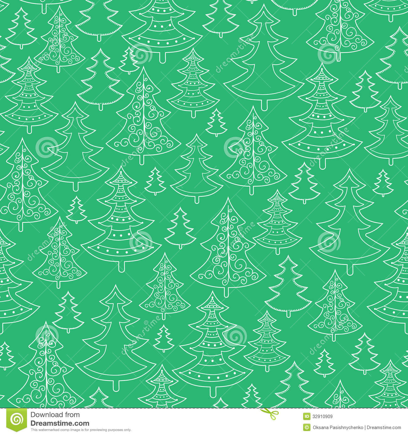 Christmas Tree Pattern Backgrounds – Happy Holidays