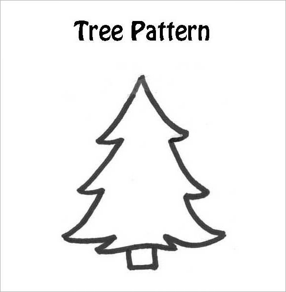 Christmas Tree Pattern Inspirational 22 Christmas Tree Templates Free Printable Psd Eps Of Great 46 Images Christmas Tree Pattern