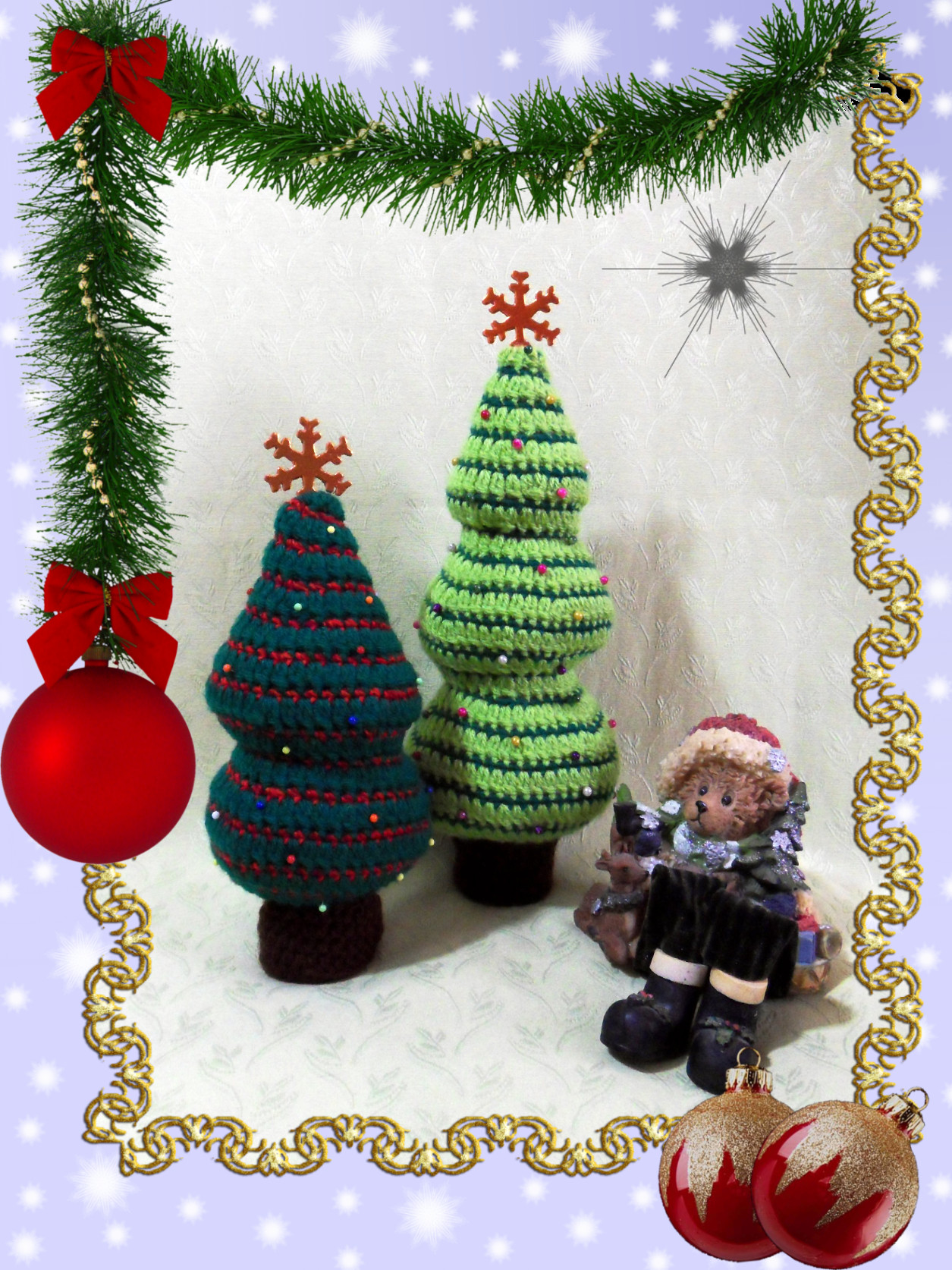 crochet patterns christmas trees