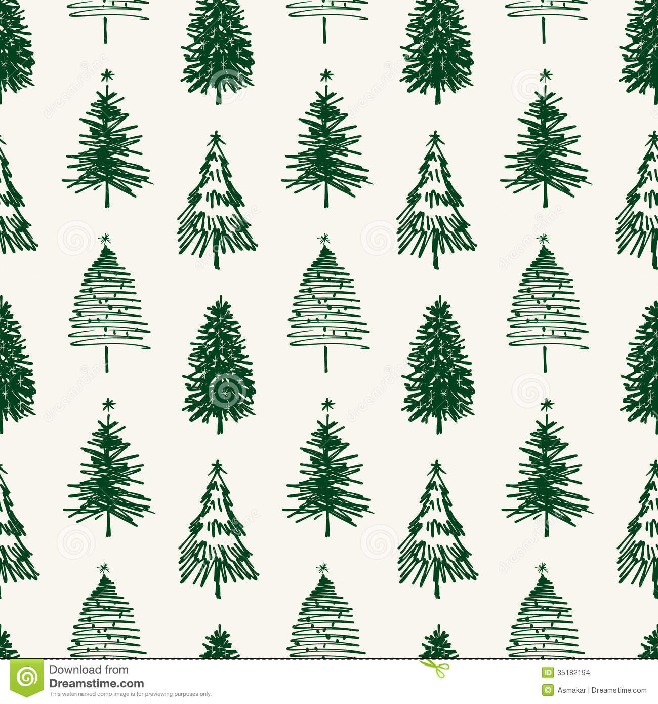 Christmas Tree Pattern Inspirational Pattern Of Christmas Trees Stock Vector Illustration Of Of Great 46 Images Christmas Tree Pattern