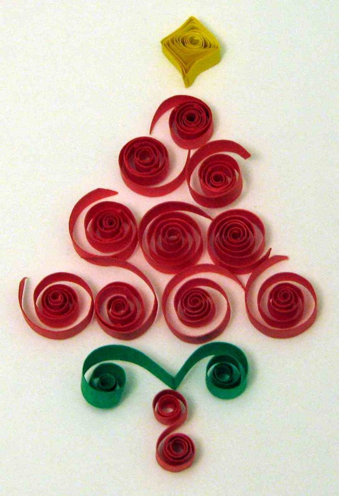 Christmas Tree Pattern Unique Quilling Art and Expression the First Day Of Quilling Of Great 46 Images Christmas Tree Pattern
