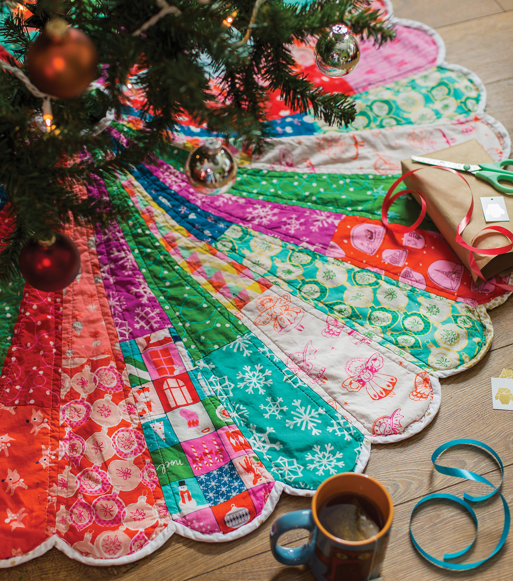 Christmas Tree Skirt Pattern Awesome Giant Dresden Christmas Tree Skirt — Carrie Actually by Of Top 49 Images Christmas Tree Skirt Pattern