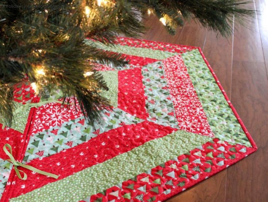 Christmas Tree Skirt Pattern Lovely Quilted Christmas Tree Skirt Pattern Of Top 49 Images Christmas Tree Skirt Pattern