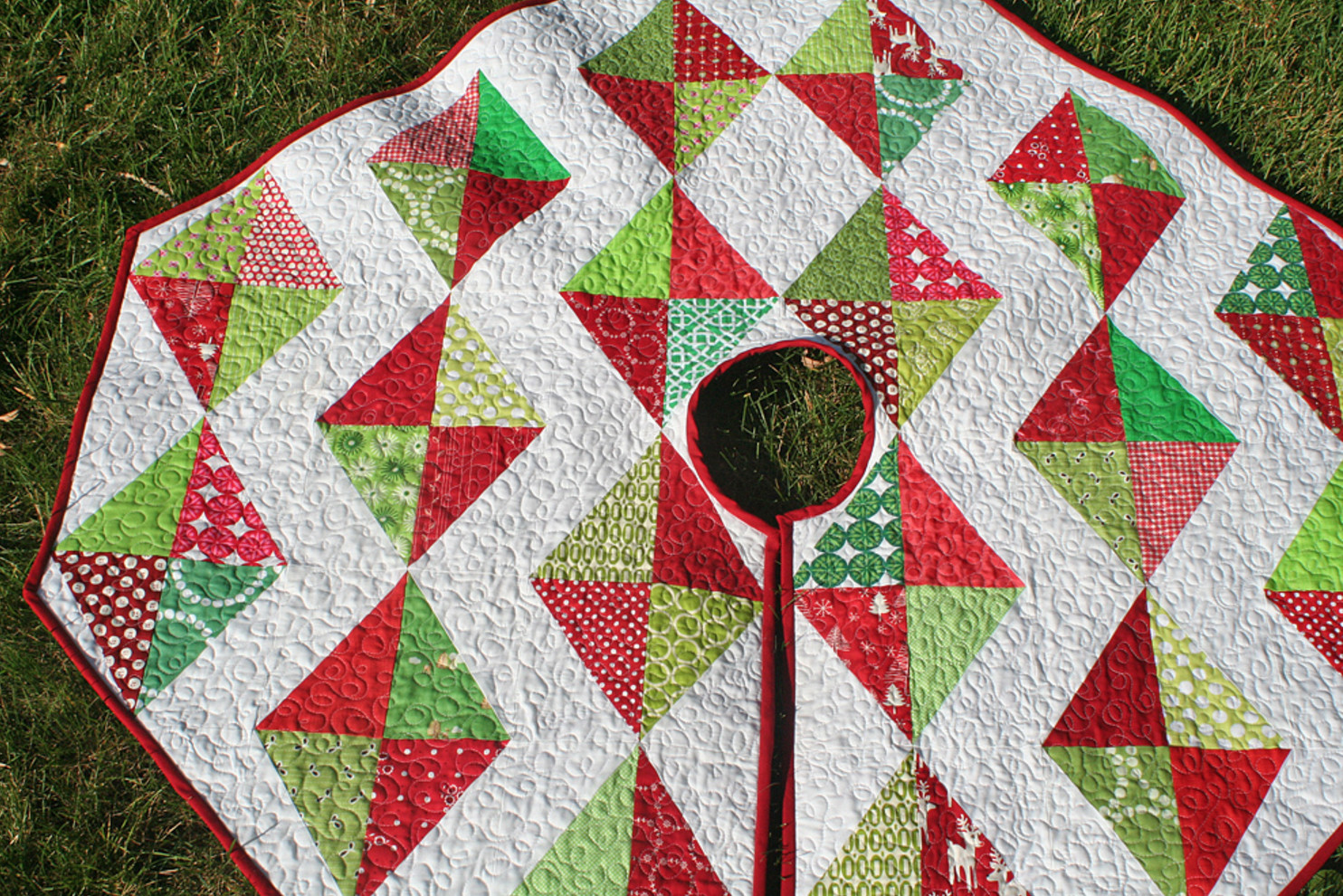 Christmas Tree Skirt Pattern New Christmas Tree Skirt Tutorial – Freshly Pieced Of Top 49 Images Christmas Tree Skirt Pattern