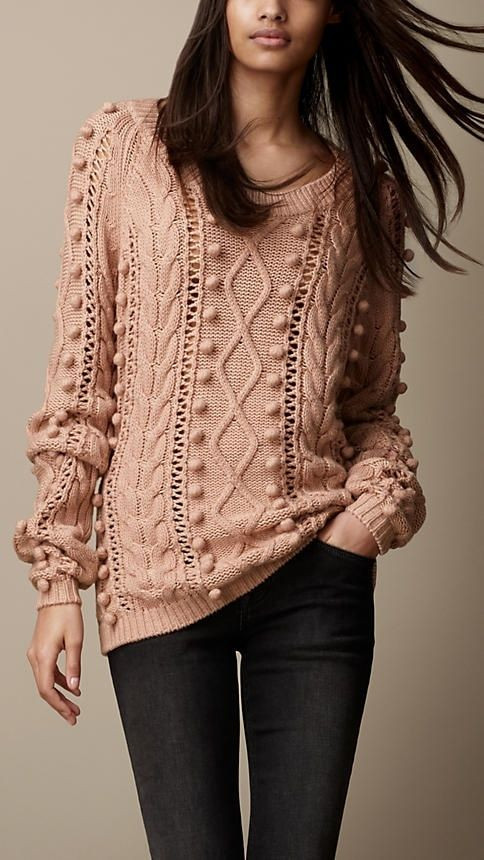 Chunky Cable Knit Sweater Lovely Burberry Brit Cable Knit Wool Of Attractive 42 Images Chunky Cable Knit Sweater