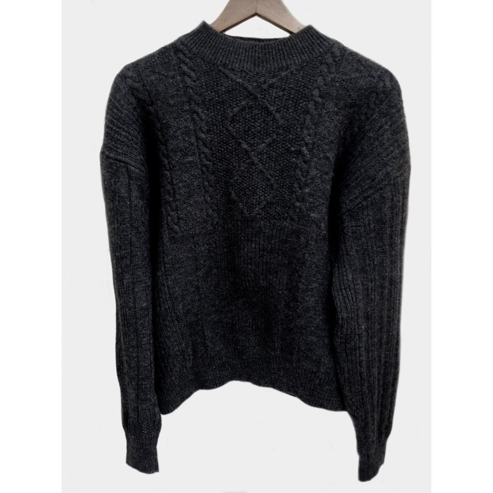 Chunky Cable Knit Sweater Lovely Paul Smith Mens Chunky Cable Knit Mock Neck Wool Sweater Of Attractive 42 Images Chunky Cable Knit Sweater