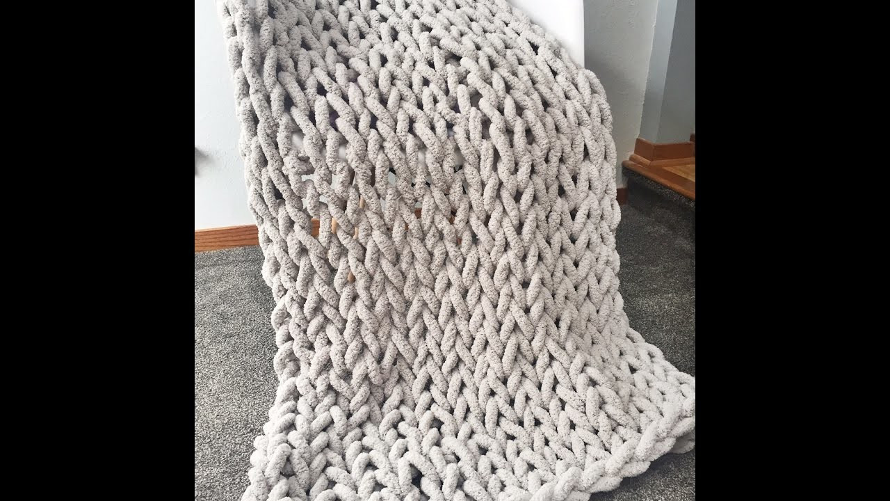 Chunky Chenille Yarn Awesome How to Hand Knit A Super Chunky Chenille Blanket 40×60 In Of Charming 47 Ideas Chunky Chenille Yarn