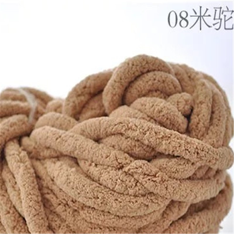 4 pieces lot 1000g super chunky chenille yarn thick wool