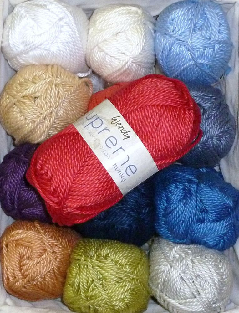 Chunky Cotton Yarn Beautiful Wendy Supreme Chunky Luxury Cotton Knitting Yarn In Of Perfect 44 Ideas Chunky Cotton Yarn