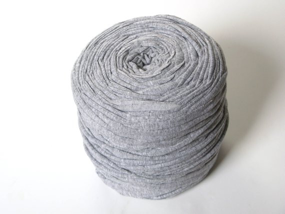 Chunky Cotton Yarn Luxury T Shirt Yarn Chunky Bulky Thick Cotton Yarn Grey ash Of Chunky Cotton Yarn Beautiful Cherry Red Chunky Tape Yarn for Knitting Weaving and