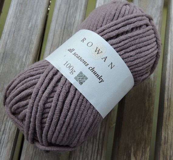 Chunky Cotton Yarn New Bulky Weight Yarn Rowan All Seasons Chunky Cotton Blend Of Chunky Cotton Yarn Beautiful Cherry Red Chunky Tape Yarn for Knitting Weaving and