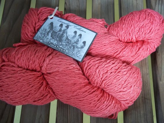 Chunky Cotton Yarn Unique Chunky Weight Yarn Coral Pima Cotton 100 G by Of Chunky Cotton Yarn Beautiful Cherry Red Chunky Tape Yarn for Knitting Weaving and