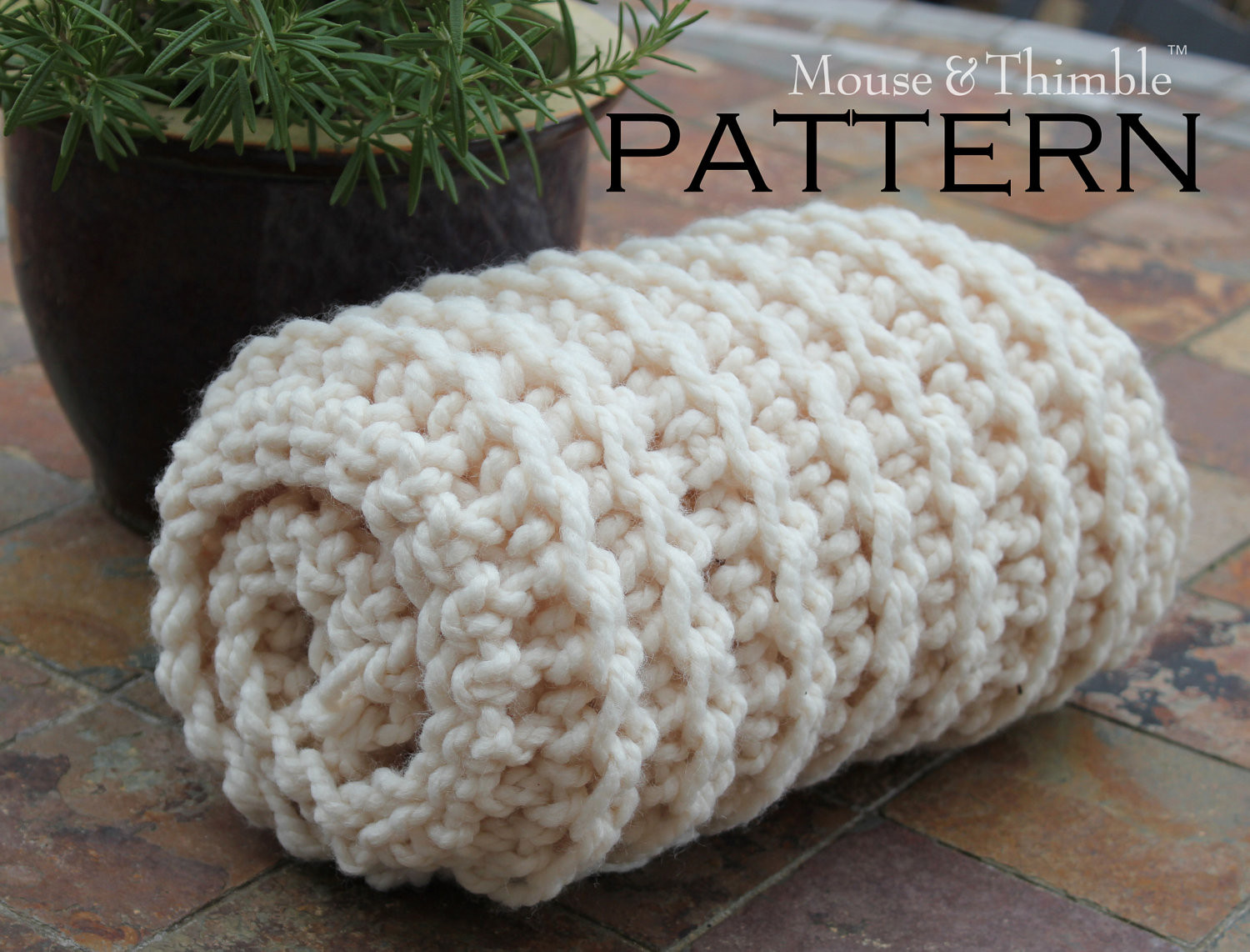 Chunky Crochet Blanket New Chunky Fisherman Style Baby Blanket Crochet Pattern 25 Of Awesome 44 Photos Chunky Crochet Blanket