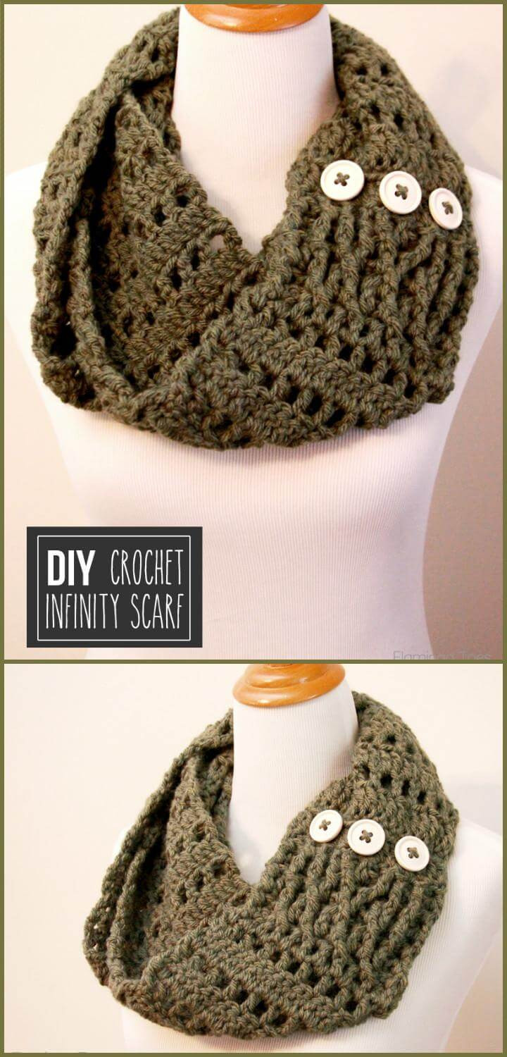 Chunky Crochet Scarf Awesome 45 Best Diy Infinity Scarf Tutorials Diy Fashion Diy Of New 44 Pics Chunky Crochet Scarf