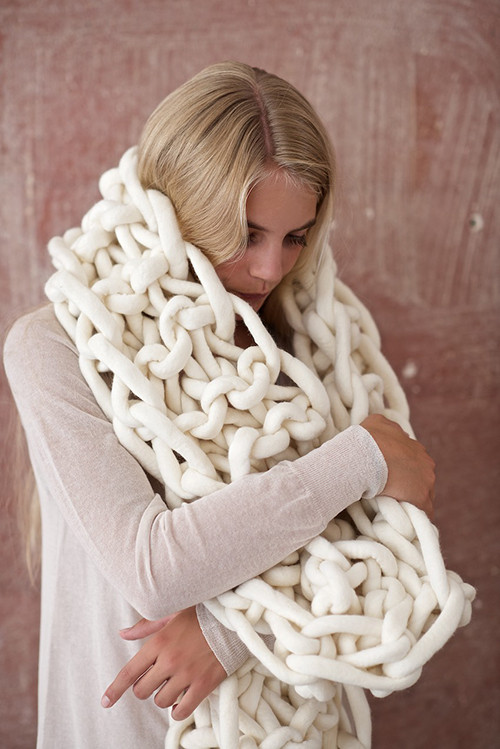 Chunky Crochet Scarf Fresh Diy Giant Knit Mega Scarf ⋆ Design Mom Of New 44 Pics Chunky Crochet Scarf
