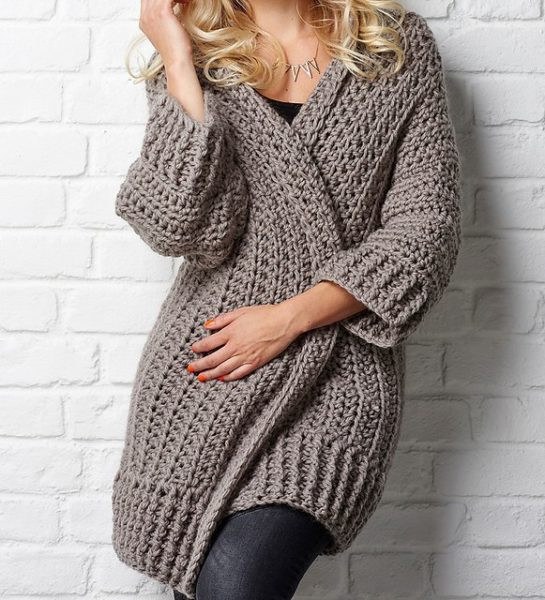 Chunky Crochet Sweater Pattern Free New La S Cardigans Of Attractive 40 Images Chunky Crochet Sweater Pattern Free