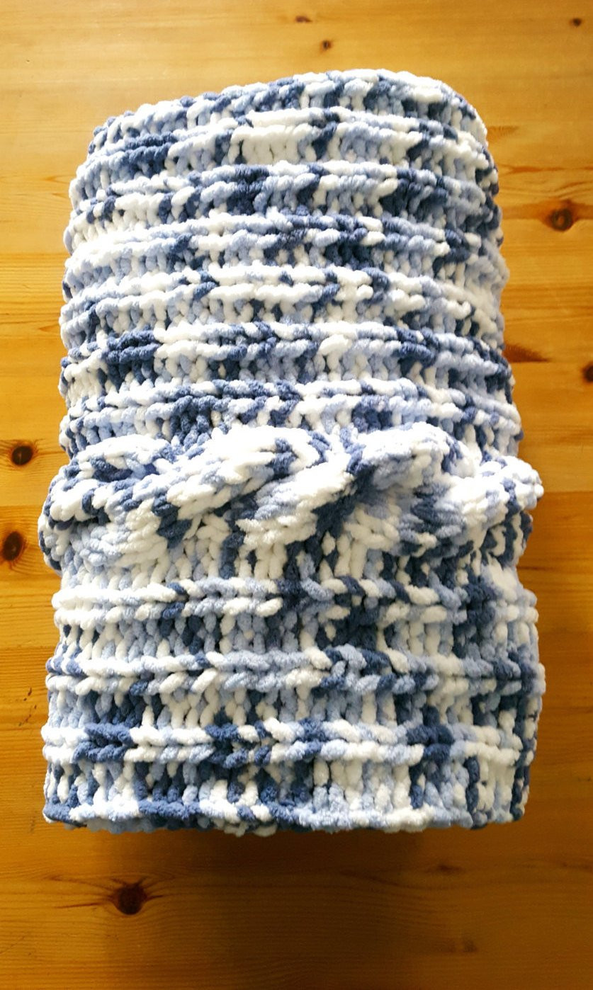 Chunky Knit Baby Blanket Awesome Blue Baby Blanket Knit Chunky Baby Chenille by Of Gorgeous 41 Pictures Chunky Knit Baby Blanket