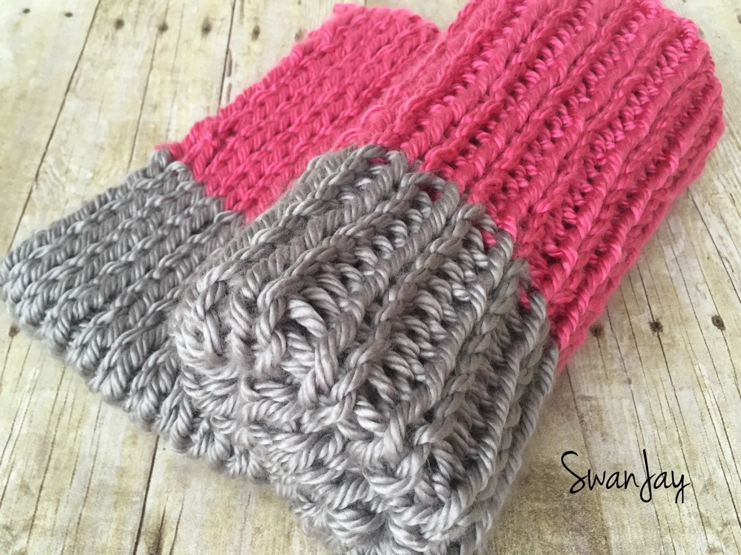 chunky knitted baby blanket thick