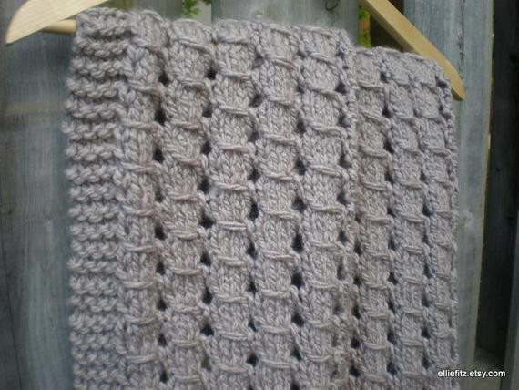 Chunky Knit Baby Blanket Awesome Chunky Lace Baby Blanket Knitting Pattern Pdf Pattern Knit Of Gorgeous 41 Pictures Chunky Knit Baby Blanket