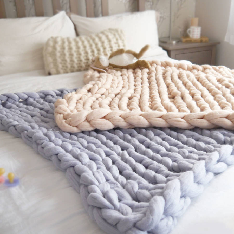 Chunky Knit Baby Blanket Best Of Super Chunky Knit Baby Blanket by Lauren aston Of Gorgeous 41 Pictures Chunky Knit Baby Blanket