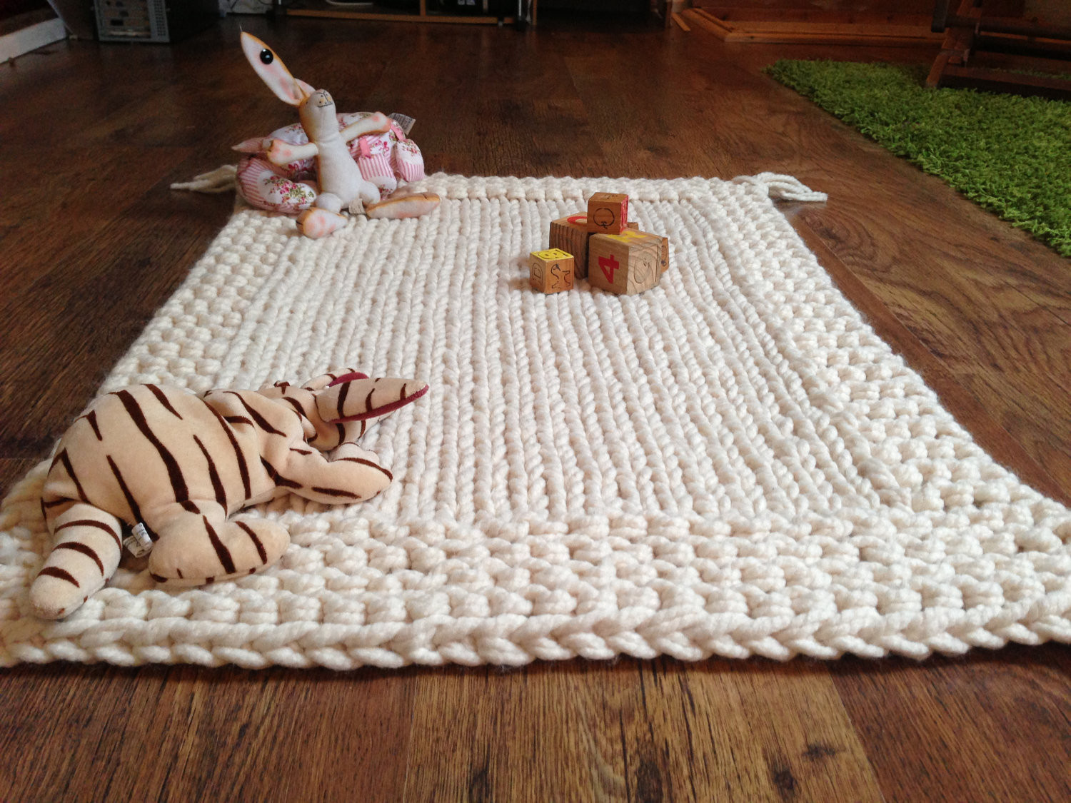 Chunky Knit Baby Blanket Luxury Chunky Cream Hand Knitted Babies Blanket Play Mat Of Gorgeous 41 Pictures Chunky Knit Baby Blanket